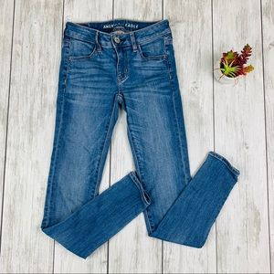 American Eagle Next Level Stretch Skinny Jeans 00